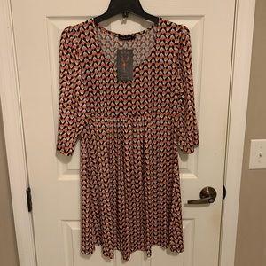 NWT Reborn 3/4 length sleeves Dress